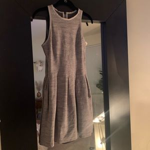 LULULEMON HERE TO THERE GRAY DRESS